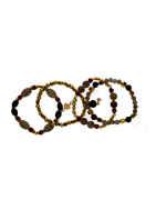 Gold Finish Beads Styled Bracelets Fancy
