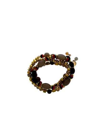 Gold Finish Beads Styled Bracelets Fancy