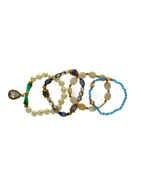 Turquiose Colour Cristal Beads Bracelets