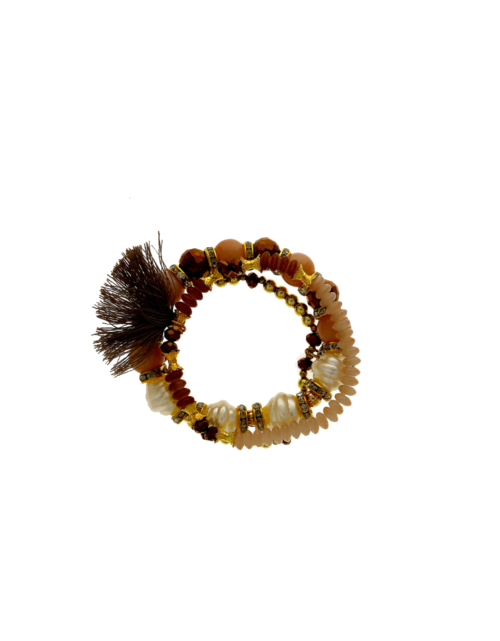 Brown Colour Designer Hand Bracelets