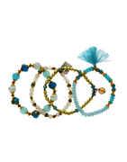 Turquiose Colour Bracelets For Girls