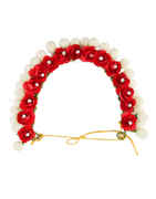 Red Colour Hair Jewellery For Girls Trendy