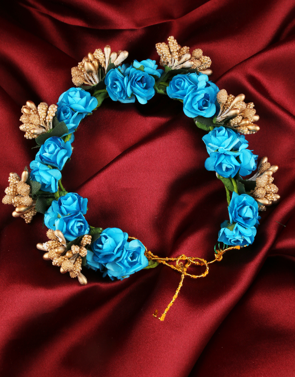 Turquiose Colour Hair Jewellery For Wedding