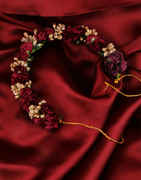 Maroon Colour Hair Accessories Jewellery