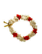 Red Colour Fancy Hair Accessories Gajra