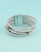 Silver Finish Adjustable Bracelets For Girls