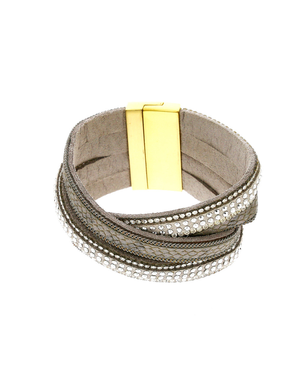 Grey Colour Hand Band For Girls Stylish
