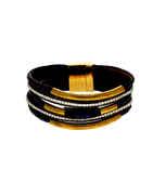 Blue Colour Gold Finish Bracelets Fancy