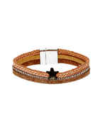 Brown Colour Adjustable Stunning Bracelets For Girl