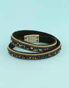 Black Colour Sparkling Party Wear Bracelets