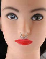 Designer Two Tone Combo Nose Stud