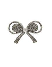 Silver Finish Fancy Brooch For Girls