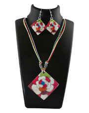 Multi Colour Korean Fancy Dori Necklace