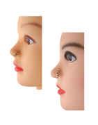 Designer Purple-Pink Colour Fancy Nose Stud