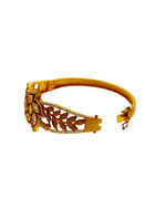 Designer Gold Finish Kundan Traditional Bracelets