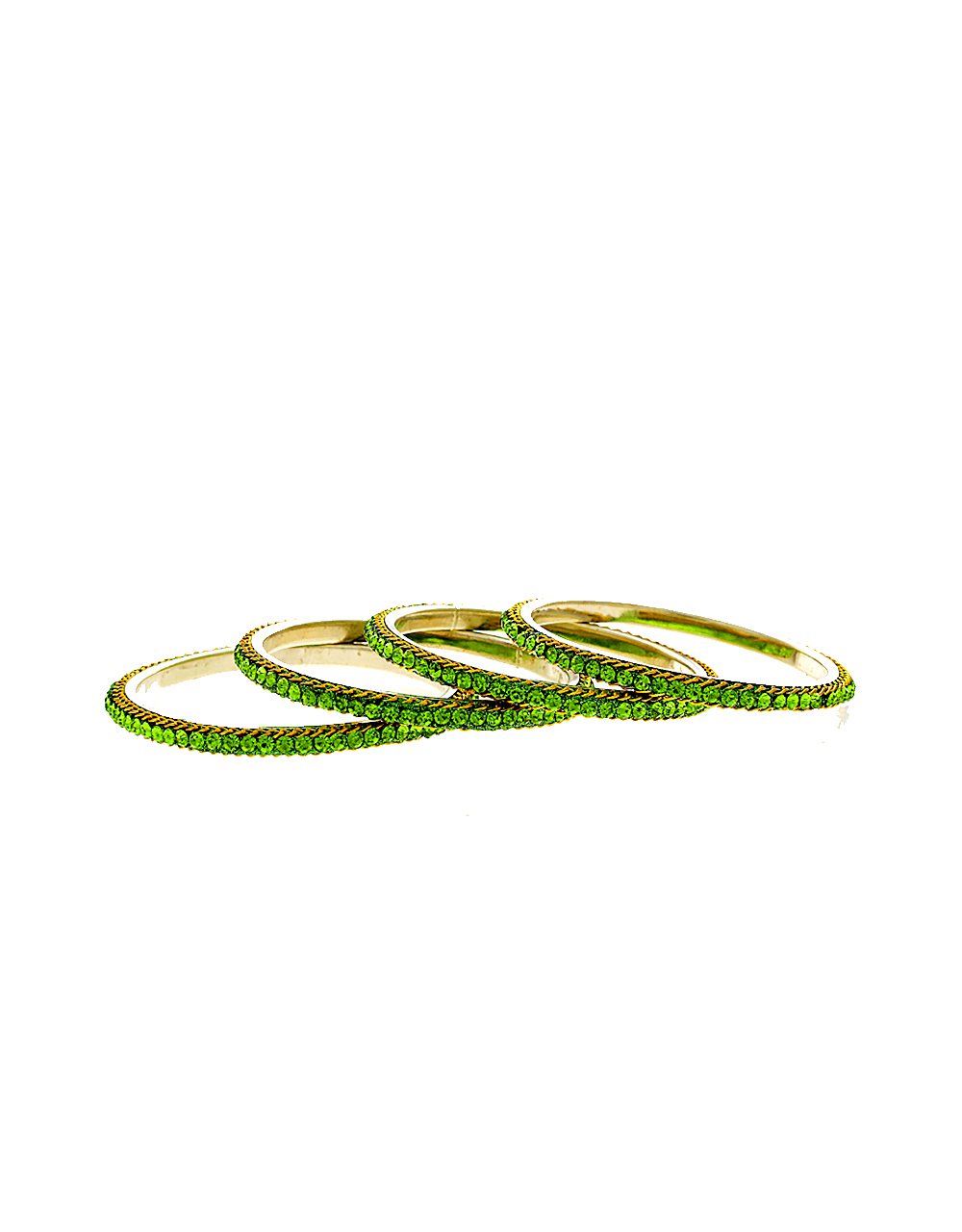 Green Colour Designer Bangles For Girls Fancy