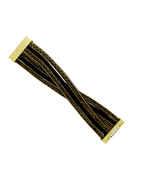 Fancy Black Colour Leather Bracelets For Girls