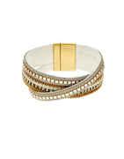 White Colour Design Fancy Hand Bracelets