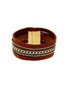 Fancy Brown Colour Western Bracelets For Fancy