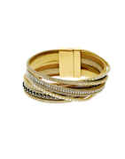 Gold Finish Fancy Bracelets For Girls