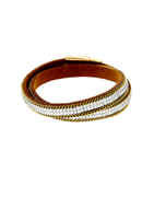 Fancy Gold Finish Western Bracelets For Girls
