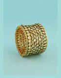 Very Classy Gold Finish Kundan Bracelets For Girls