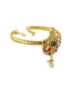 Unique Design Gold Finish Armlet For Girls Fancy