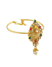 Multi Colour Gold Finish Armlet For Women Fancy