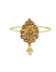 Fancy Gold Finish Bajuband Studded With Stones Fancy Jewellery