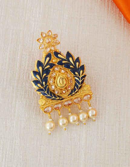 aae141e04 Buy Latest Saree Pin & Brooch Online- Fancy Diamond Sari Pins ...