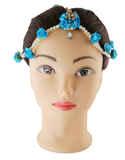 Flower Jewellery Styled With Beads Fancy Flower Jewellery For Mehandi