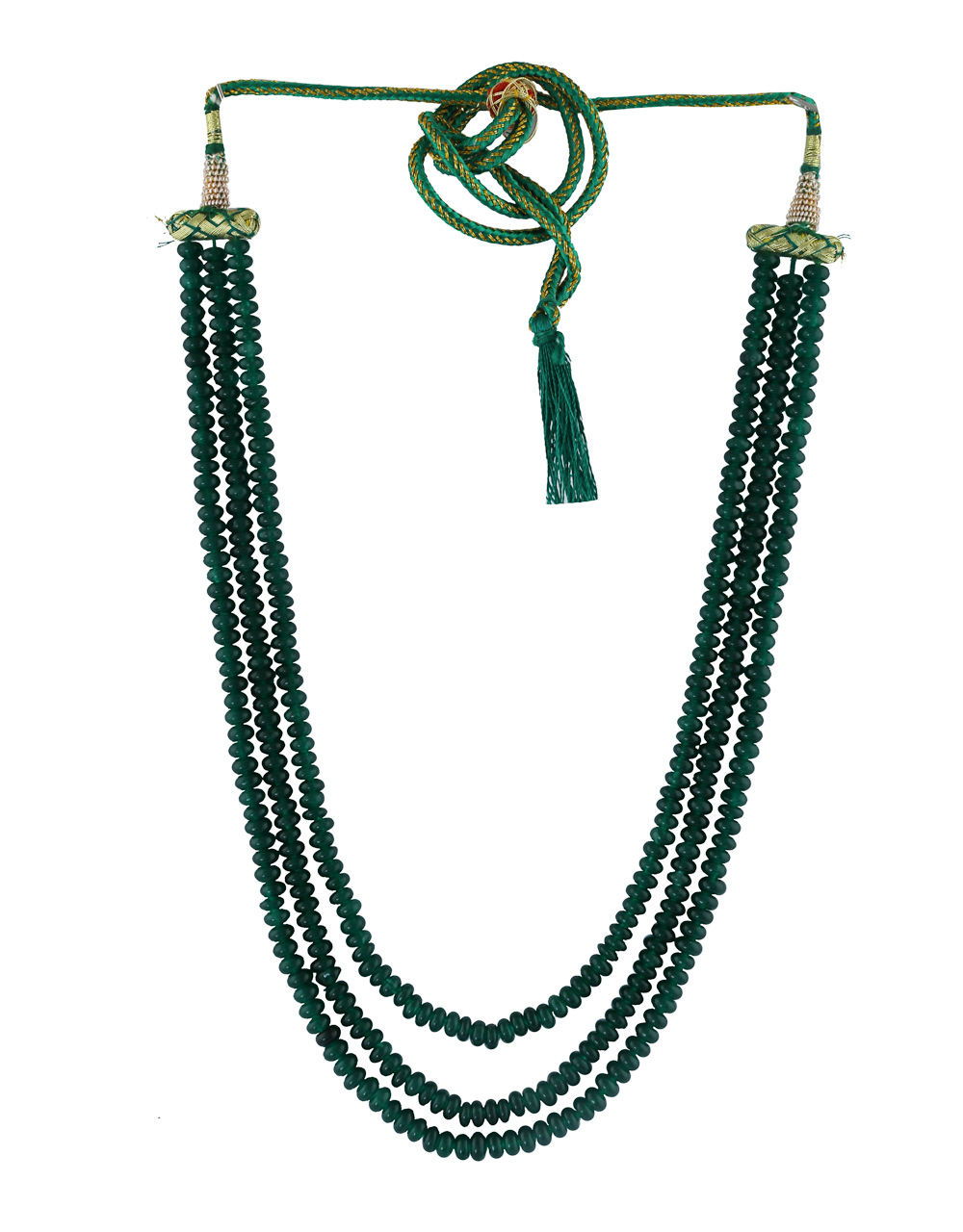 Designer Green Colour Onex Mala