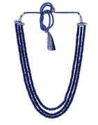 Blue Colour Fancy Onex Mala For Girls