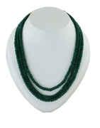 Green Colour Fancy Designer Beads Mala