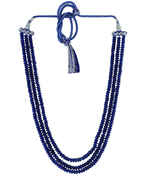 Blue Colour Beads Mala For Women Fancy