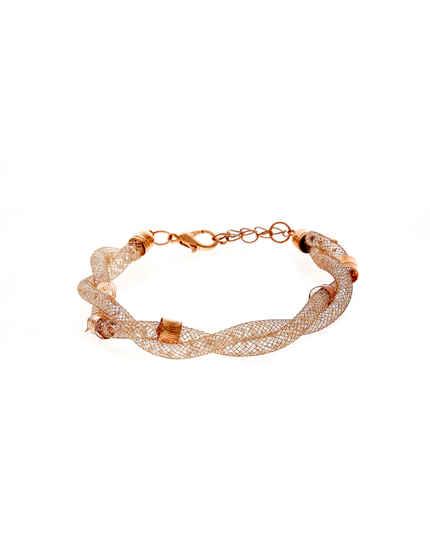 Designer Rose Gold Finish Bracelets For Western Wear