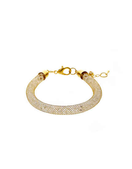 Designer Gold Finish Fancy Pulsera Bracelets