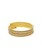 Designer Gold Finish Moti Styled Bracelets Fancy