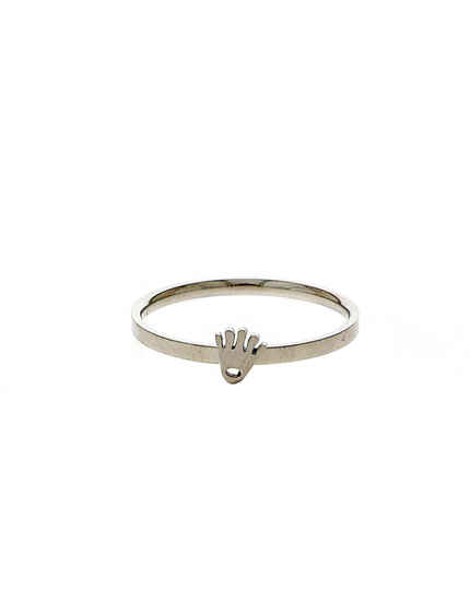 Silver Tone Finger Ring For Fashionable