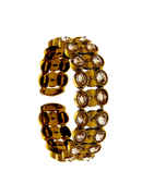 Fancy Antique Gold Finish Stunning Kada Bracelets
