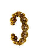 Antique Gold Finish Fashionable Wrist Bracelets For Girls