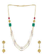 Designer Fancy Mala Styled With Pearls Beads Chain Mangalsutra
