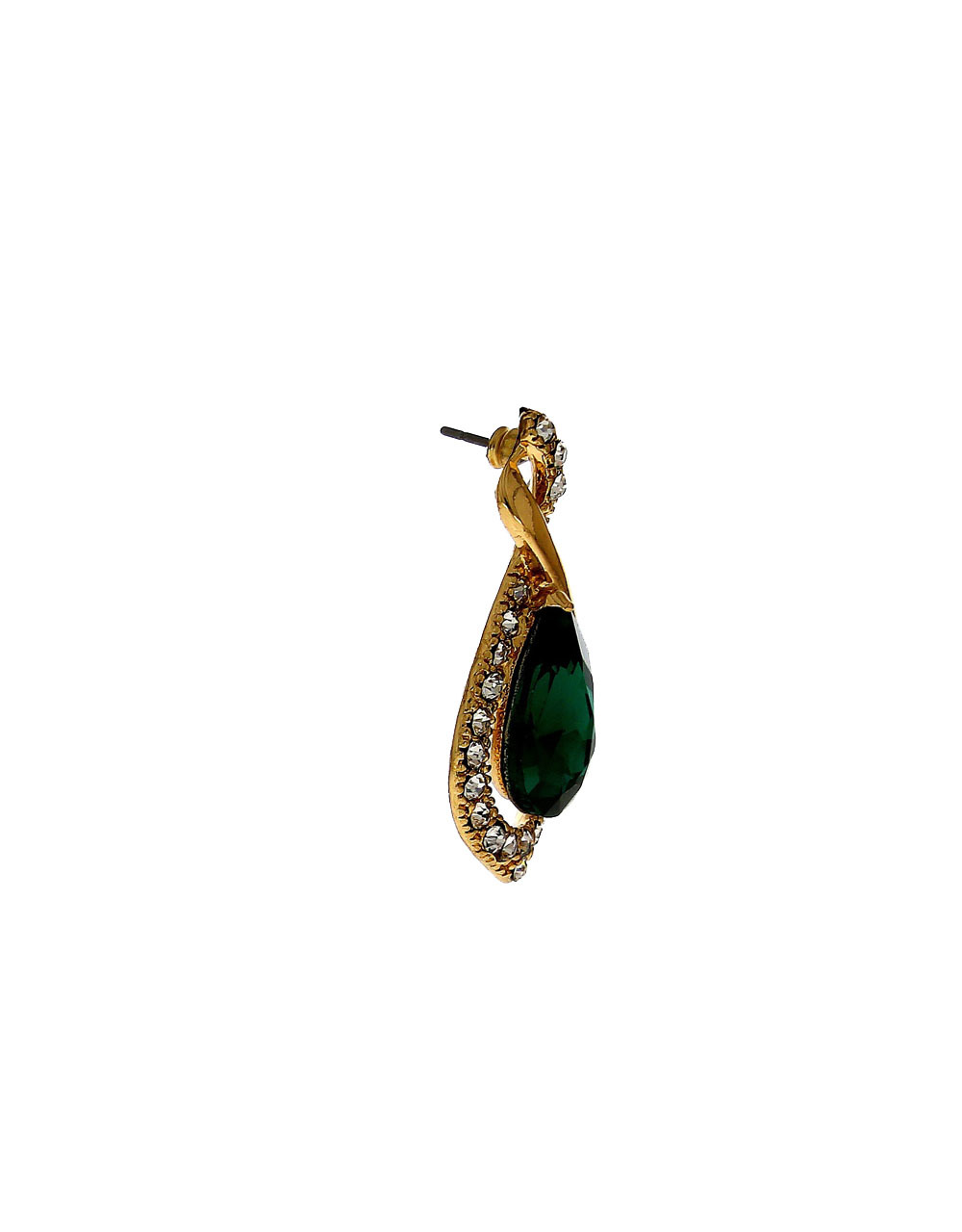 Green Colour Gold Finish Party Wear Jewellery