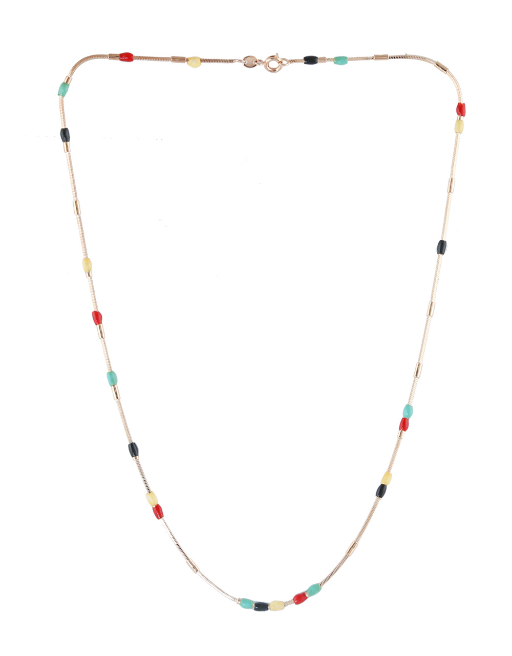 Adorable Multi Colour Beads Chain For Girls Fancy