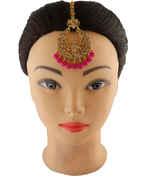 Very Classy Gold Finish Stylish Mang Tikka For Girls