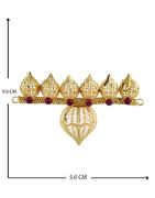 Fancy Pink Colour Armlet Jewellery For Ganesha Festival