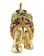 Designer Gold Finish Elephant/Gajalaxmi For Ganesha Decoration