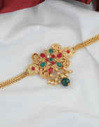 Multi Colour Gold Finish Fancy Armlet Jewellery