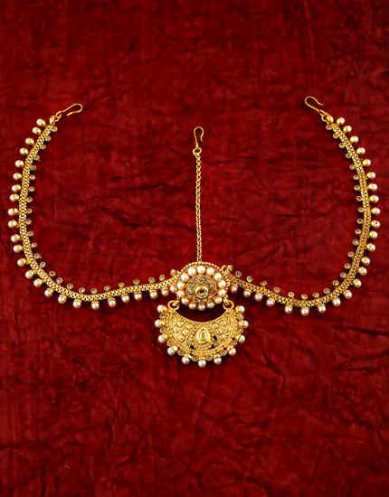 Buy Indian Bridal Matha Patti & Tika Jewelry Online At Best Price