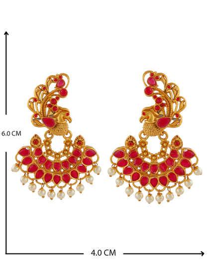 4c8f49181b2d4 Traditional Earrings: Buy Kundan & Antique Earrings Online at Low ...